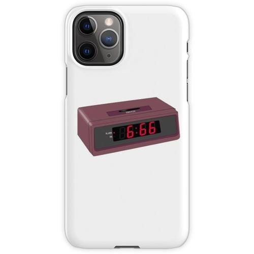 6:66 Teufel Wecker iPhone 11 Pro Handyhülle
