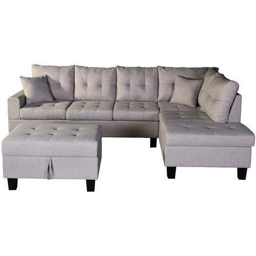 Home Deluxe - Sofa Mailand links | Ecksofa, Couch, Sofagarnitur