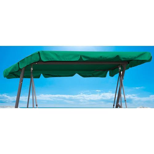 Quick Star Hollywoodschaukelersatzdach grün Sonnensegel Sonnenschirme -segel Gartenmöbel Gartendeko