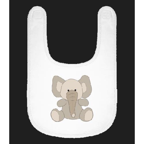 Baby Comic - Elefant - Baby Lätzchen