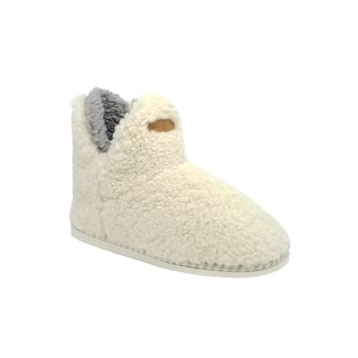 Women's Berber Slipper Boot Slippers by GaaHuu in Natural (Size LARGE 9-10)