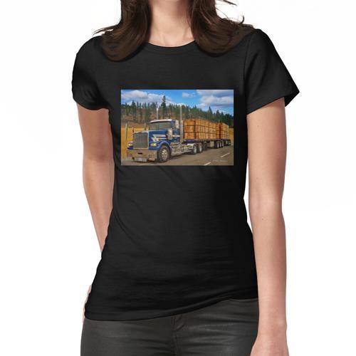 Holztransporter Frauen T-Shirt