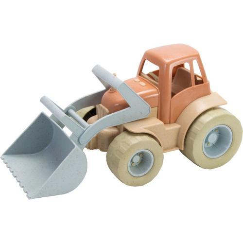 BIO Traktor Frontlader, in Geschenkbox beige/braun