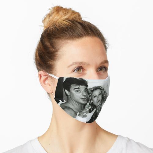 In der Toilette Maske