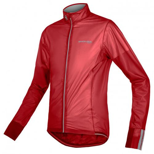 Endura - FS260-Pro Adrenaline Race Cape II - Fahrradjacke Gr S rot/rosa