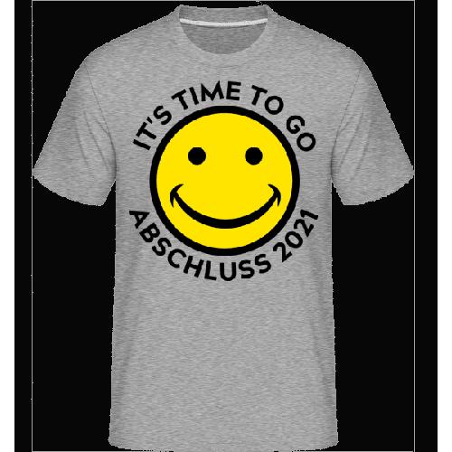 Its Time To Go Abschluss 2021 - Shirtinator Männer T-Shirt