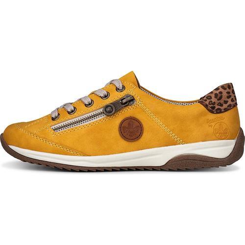 Rieker, Sneaker Da-Halbschuhe in gelb, Sneaker für Damen Gr. 38