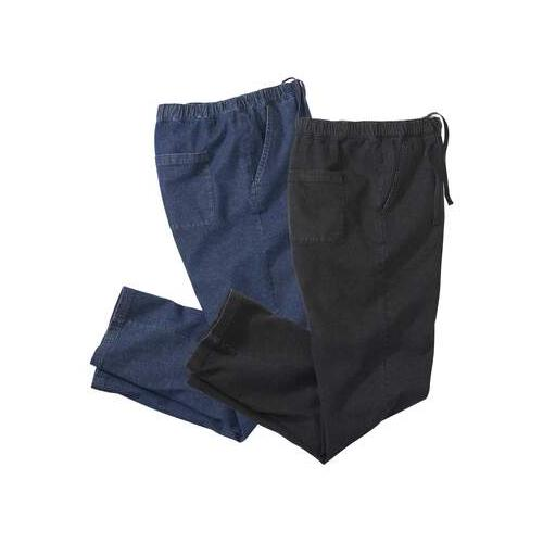 2er-Pack bequeme Jeans