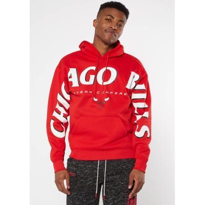 Rue21 Mens Nba Chicago Bulls Team Sleeve Hoodie - Size L
