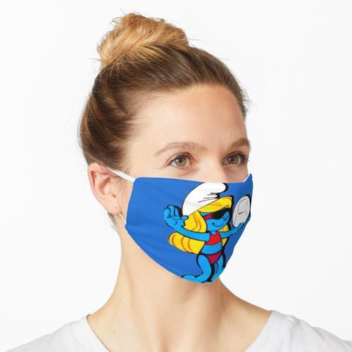 Schlumpfine - Schlümpfe Maske