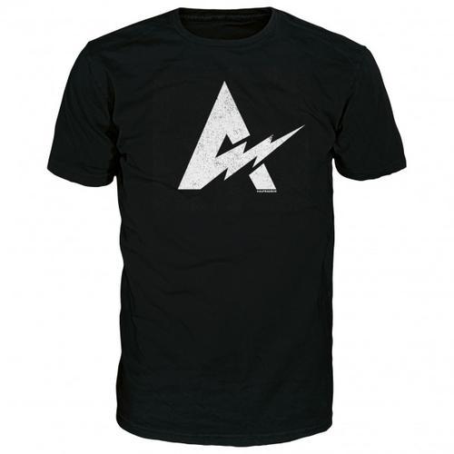 Alprausch - Blitzableiter Cotton T-Shirt Gr S schwarz