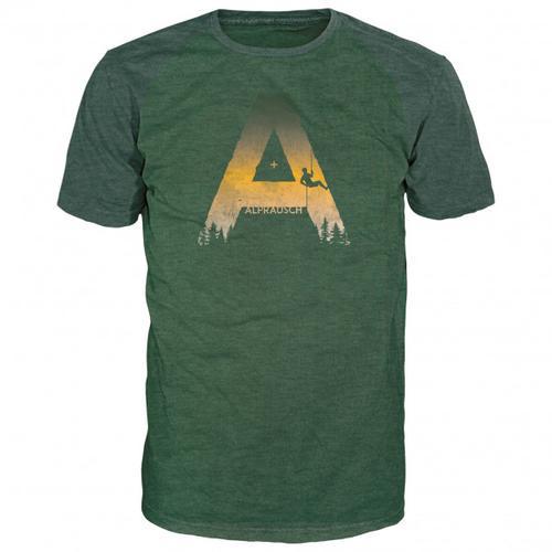 Alprausch - Alpe Chlätterer T-Shirt Gr M oliv