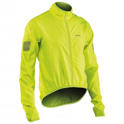Northwave - Vortex Jacket - Fahrradjacke Gr XS gelb/grün