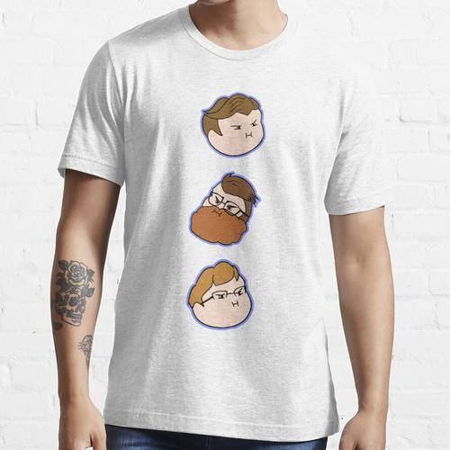 McElroy Brothers Grump Head Icons Essential T-Shirt
