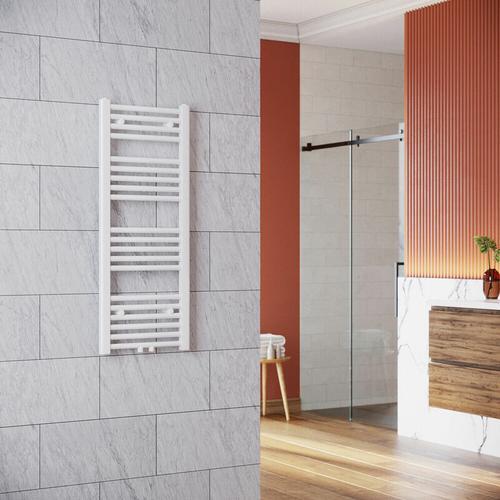 Handtuchhalter Heizung 1000 x 400 mm Heizkörper Bad Badheizkörper Mittelanschluss Handtuchtrockner