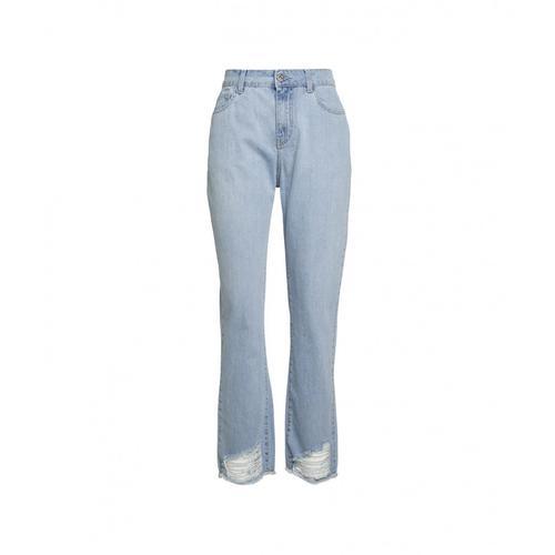 My Twin Damen Destroyed Jeans Blau