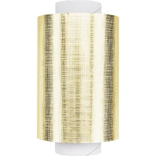 Fripac Alu-Haarfolie Super-Plus 15 my Geprägt, 100 m x 12 cm Gold Alufolie