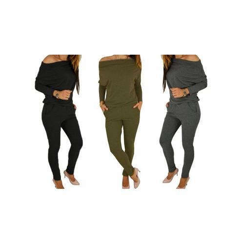 Damen-Jumpsuit: Khaki/Gr. 42-44