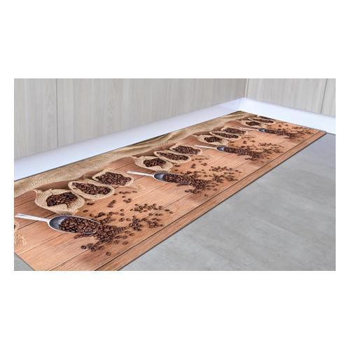 Rutschfester Läufer: Kaffee / 50 x 150 cm