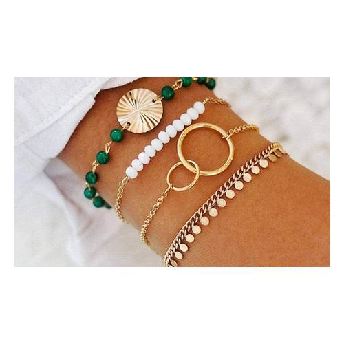 4er-Set Bohemian-Armband: 1