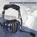 Casque d'écoute ABS, pilote d'av...