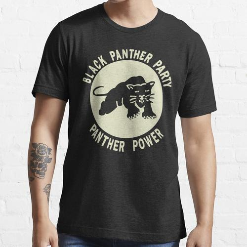 Black Panthers - Black Panther Party - Panthermacht Essential T-Shirt