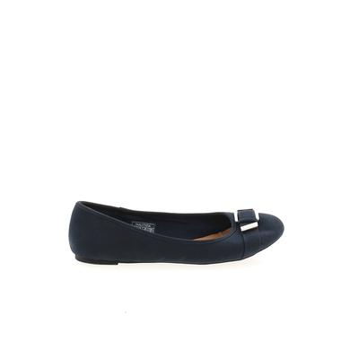 Nautica Flats: Blue Solid Shoes - Size 8 1/2