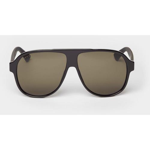 Gucci Sonnenbrille im Piloten-Stil