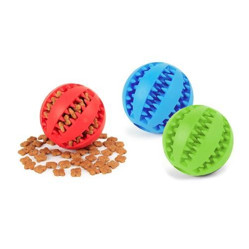 Spielball für Hunde: Rot/Gr. S