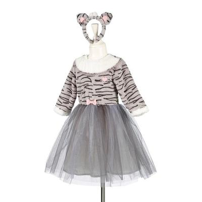 Souza - Catia Cat Dress with Headband for 3 to 4 Years - 3-4 years