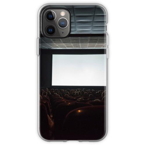 Leere Kinoleinwand mit Publikum. Flexible Hülle für iPhone 11 Pro