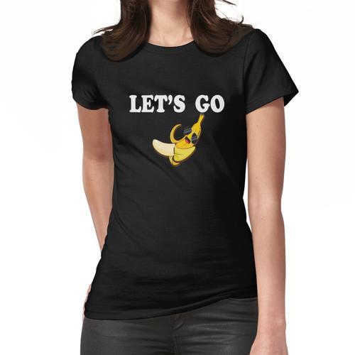 Bananenhemd Lustiges Bananenhemd Bananen-T-Shirt Bananen-T-Shirt Bananenliebhaberhemd Frauen T-Shirt