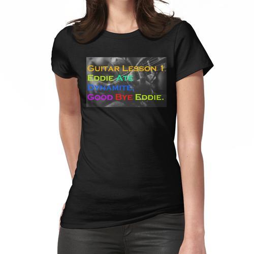 Gitarrenunterricht V2 Frauen T-Shirt