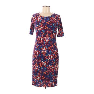 Lularoe Casual Dress - Sheath: Purple Dresses - Used - Size Medium