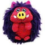 KONG ZigWigz Warthog Squeaky Plush Dog Toy, Medium