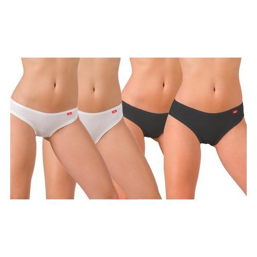 Liabel: Pants mit niedriger Taille / Schwarz / Gr. S