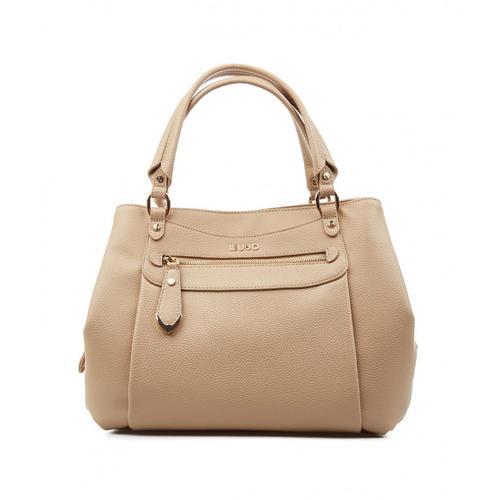 Liu Jo Damen Nachhaltige Handtasche Beige