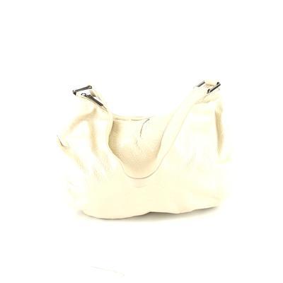 Hobo International - Hobo Bag International Leather Shoulder Bag: Ivory Solid Bags