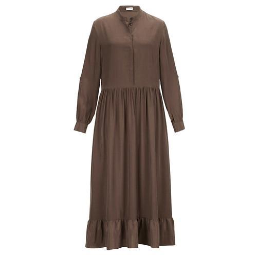 Kleid Alba Moda Schokobraun