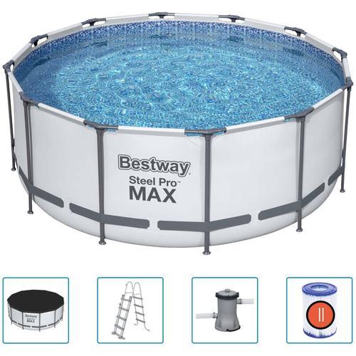 Steel Pro MAX Swimmingpool-Set Rund 366x122 cm - Bestway