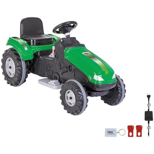 Jamara Elektro-Kindertraktor Ride-on Traktor Big Wheel grün Kinder Elektrofahrzeuge Kinderfahrzeuge