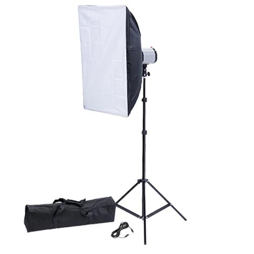 vidaXL Studiolampe Studioblitz 120 Ws Softbox 50 x 70 cm und Stativ