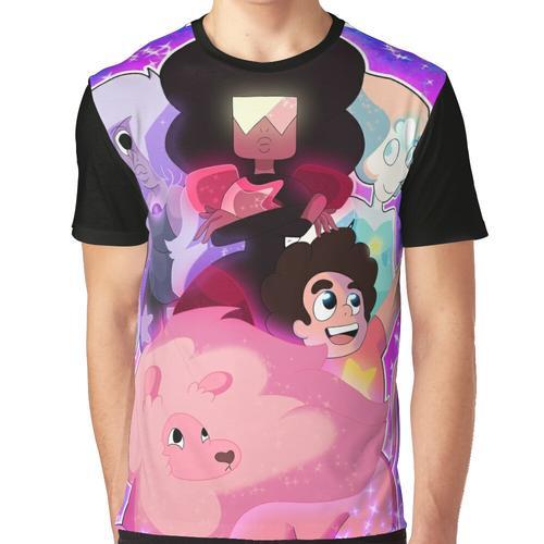 Die Kristallsteine Grafik T-Shirt