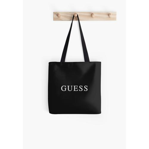 Guess All Over Print Tote Bag