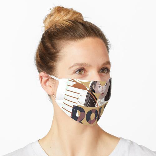 Puppenmaterial Maske