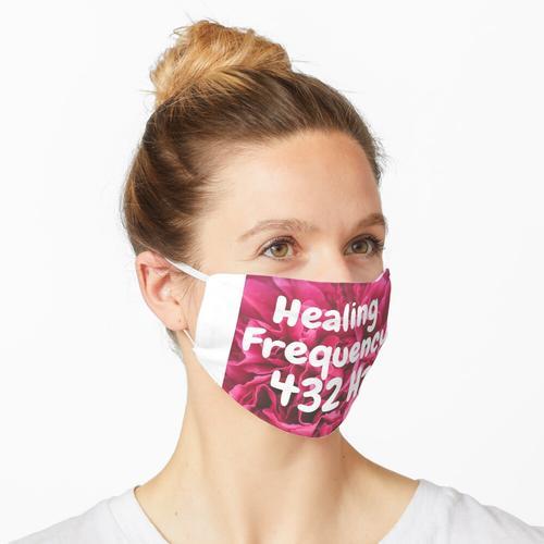 Heilungsfrequenz 432 Hz Maske