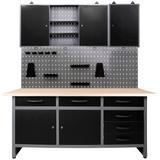 ONDIS24 Werkstatt-Set, 160 cm sc...