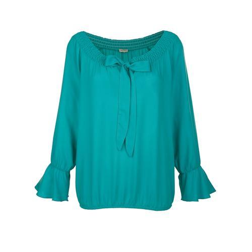 Strandbluse Alba Moda Smaragd