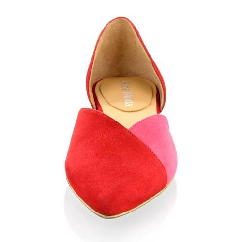 Ballerina Alba Moda Rot::Pink