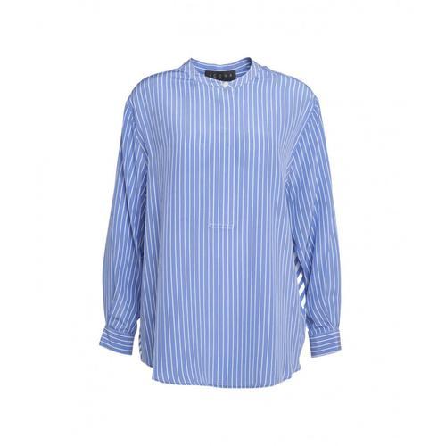 Kaos Damen Bluse mit Streifen Blau